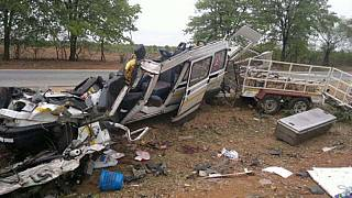 Zimbabwe: 30 killed, scores injured in bus crash