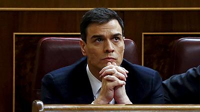 El Congreso vuelve a rechazar la investidura de Pedro Sánchez como presidente español