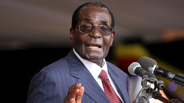 Mugabe 92 yaş gününde elmas madenlerine göz dikti