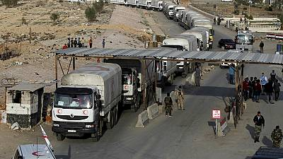Syria: UNHCR aid reaches besieged Rif Dimashq