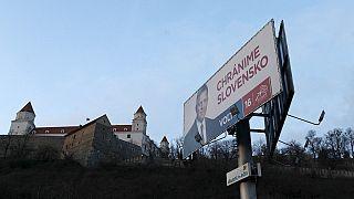 Slovakya'da halk sandık başında
