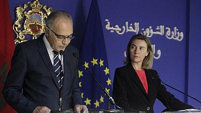 Visite de la chef de la diplomatie européenne au Maroc