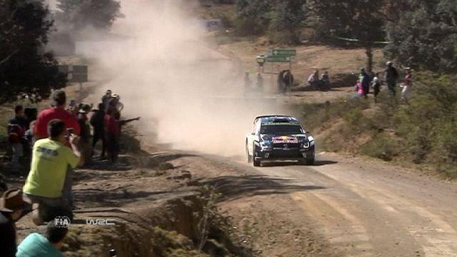 Meksika Rallisi'nin ikinci gününe Finlandiyalı pilot Jari-Matti Latvala damga vurdu