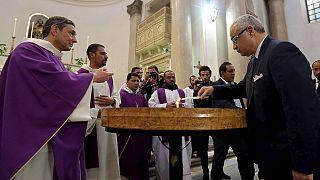 Egypt holds mass memorial for slain Italian student