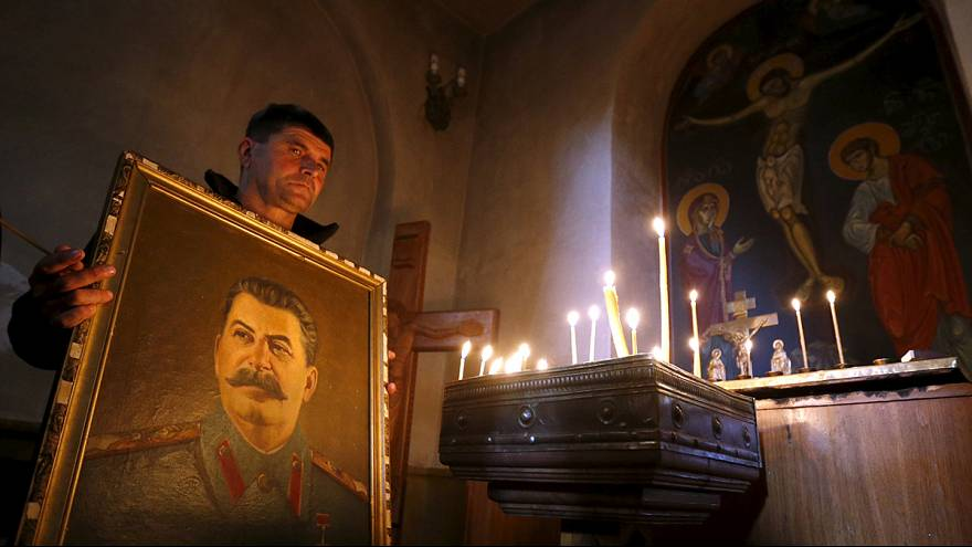 Stalin loyalists pay tribute 63 years after his death