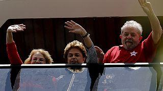Βραζιλία: Στήριξη Ρούσεφ προς τον Λούλα Ντα Σίλβα για το σκάνδαλο Petrobras