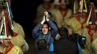 Hősként köszöntötték a baszk szeparatista vezetőt