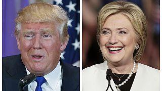 Trump és Clinton vezetnek, de gyengült mindkettőjük pozíciója