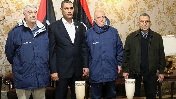 Dos italianos vuelven a casa tras ocho meses de secuestro en Libia