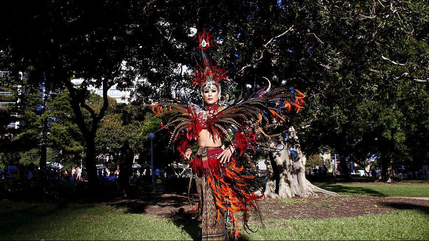 Australia: Gay Mardi Gras held in Sydney