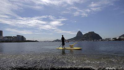 Jeux olympiques de Rio: la baie de Guanabara inquiète