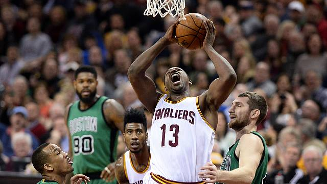 The Cavaliers come from behind to beat Boston