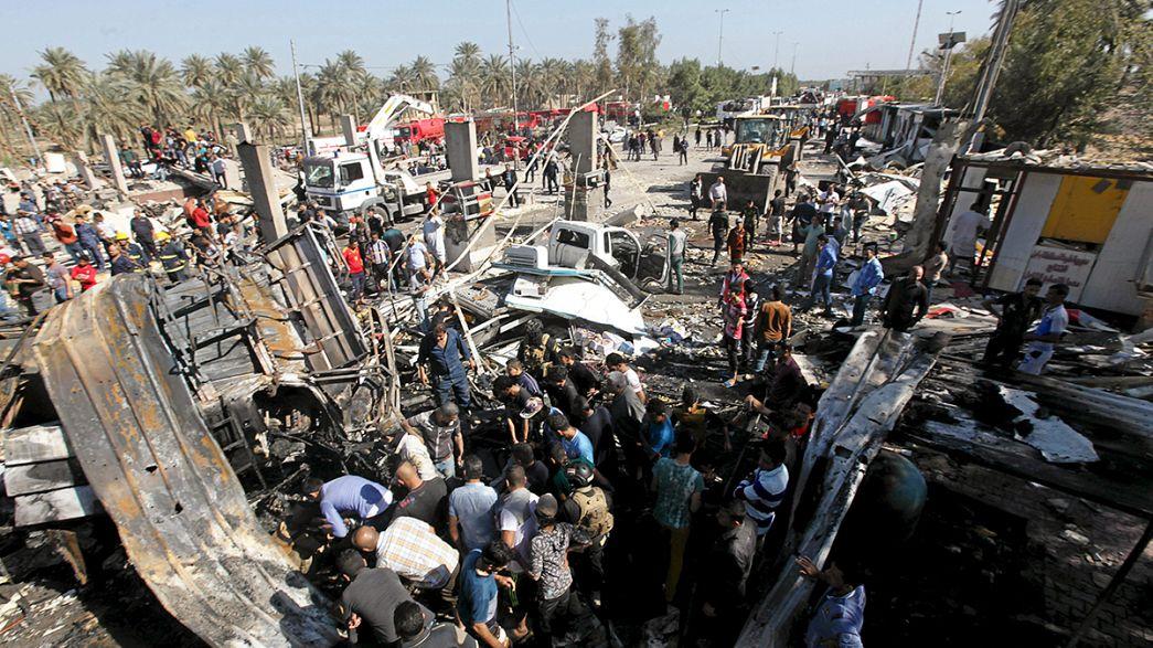 Irak : au moins 60 morts dans un attentat suicide près de Bagdad