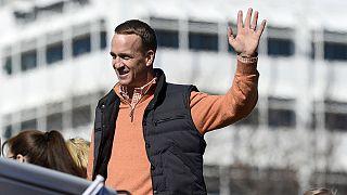 Les adieux du quarterback légendaire Peyton Manning