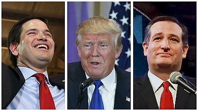 Primaires républicaines : le duel Trump/Cruz de dessine