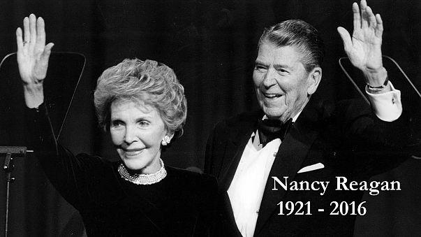 Fallece Nancy Reagan