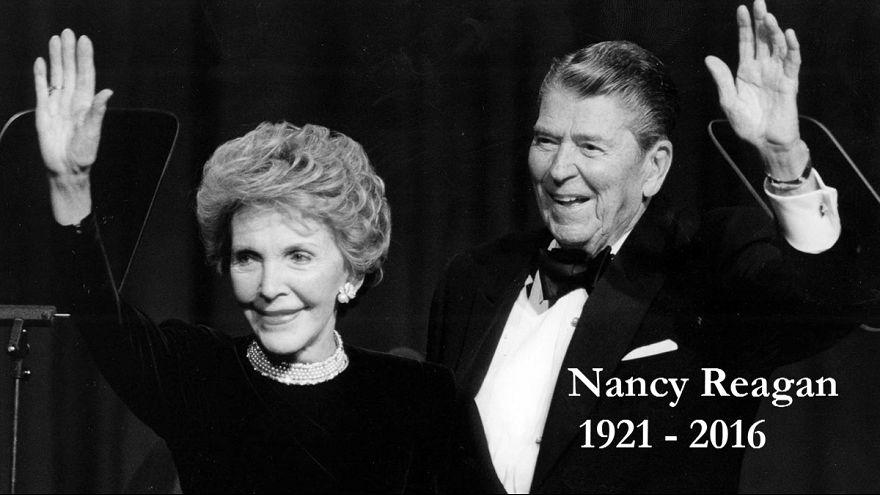 First lady Nancy Reagan yaşamını yitirdi