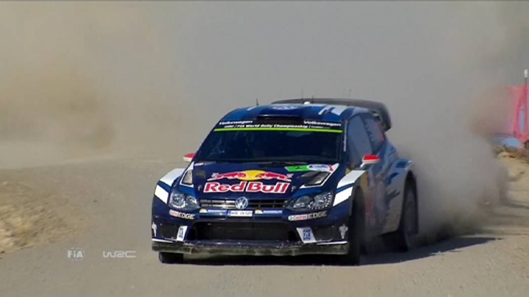Latvala races through the dust to claim the Rally of Mexico