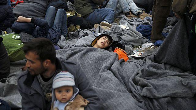 Беженцы на греко-македонской границе надеются на человеколюбие европейцев