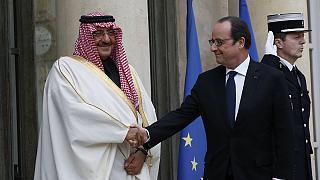 The controversial awarding of France's highest honour to top Saudi prince