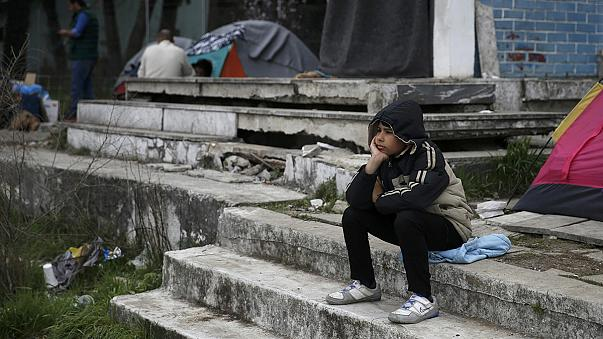 Going nowhere: 13,000 refugees still stuck in Europe's biggest waiting room