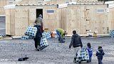 Fransa'da göçmen kampları boşaltılmaya devam ediyor