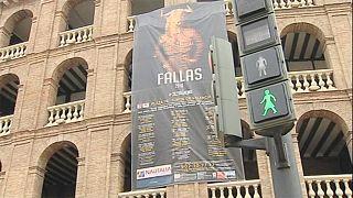 Valencia'daki trafik ışıklarına 'kadınsı' dokunuş
