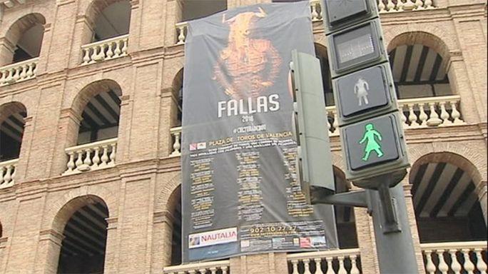 Valencia instala semáfaros paritarios