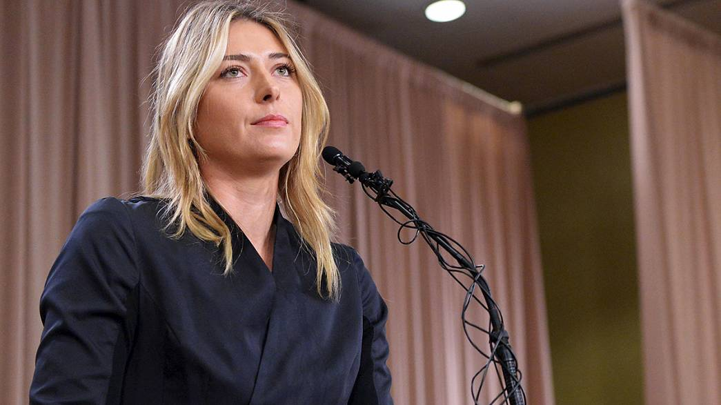 Tennis sotto shock: Sharapova positiva all'antidoping