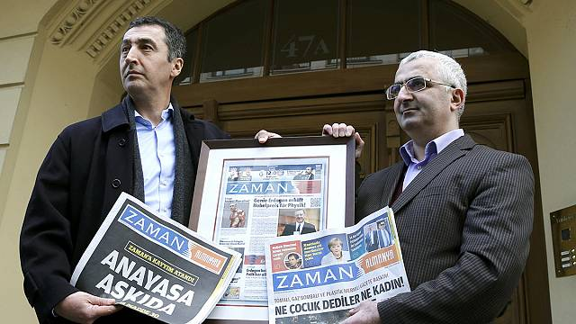 Defiant German 'Zaman' journalists publish their own version of paper