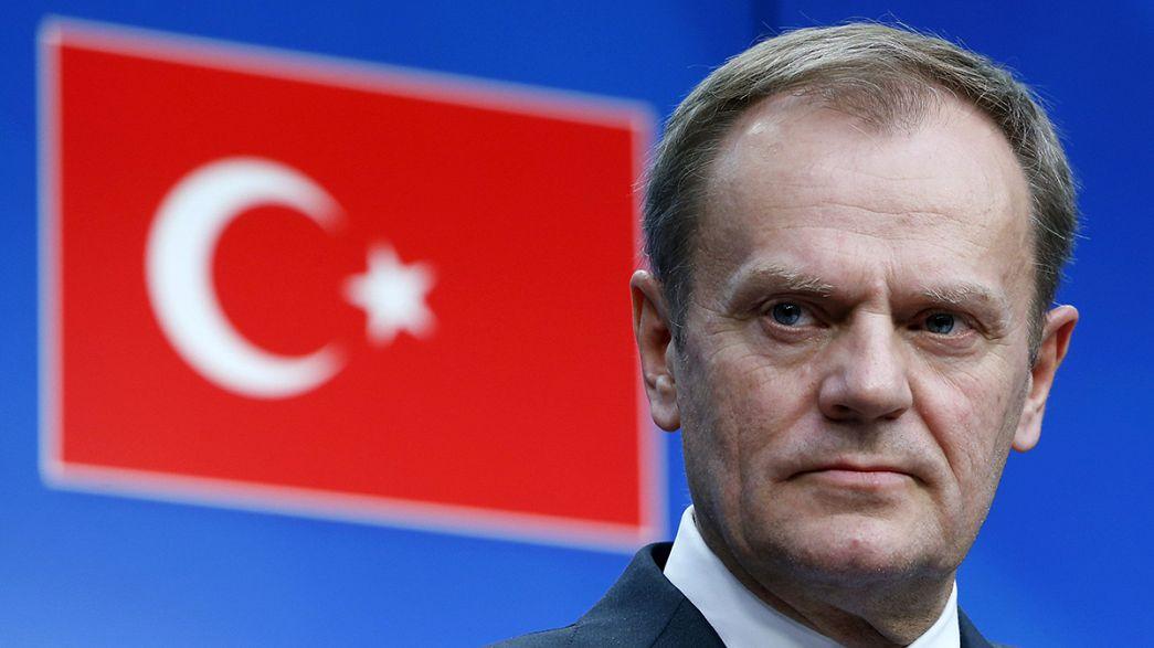 Ue e Turchia rinviano di 10 giorni l'accordo finale sull'immigrazione