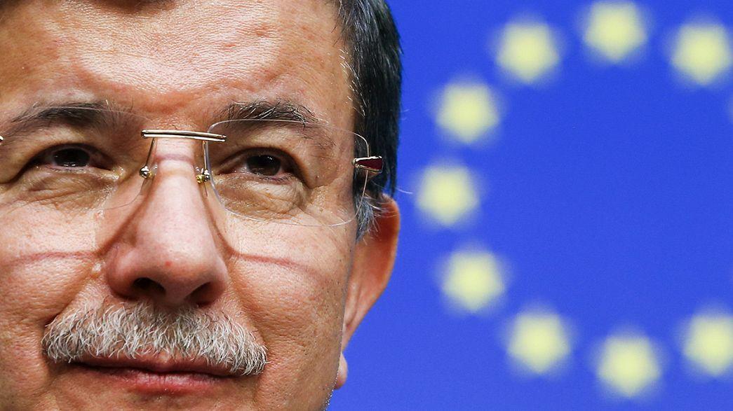 توافق اولیه اروپا و ترکیه برای جلوگیری از هجوم مهاجران غیرقانونی