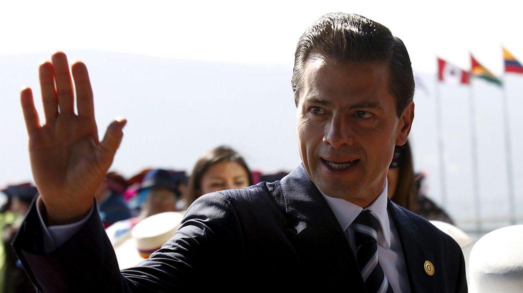 """Peña Nieto: """"Trump parla come Hitler"""""""
