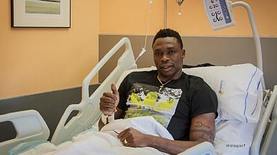 Malaga: Cameroon international Kameni undergoes successful knee surgery