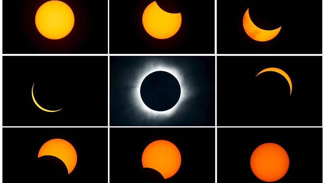 [En images] L'éclipse totale de Soleil du 9 mars