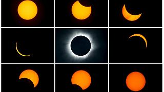 [In pictures] Indonesia witnesses total solar eclipse