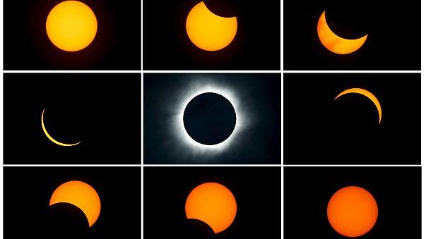 [En imágenes] Eclipse total de sol del 8 de marzo