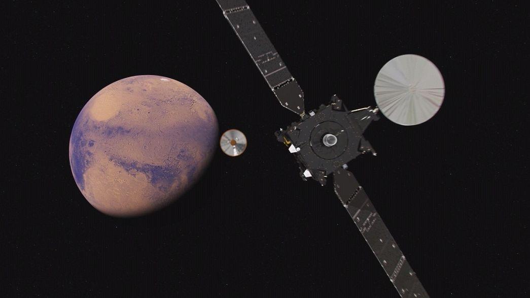 La ESA busca vida en Marte con su misión ExoMars