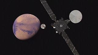 Avrupa ve Rusya Mars'taki yaşam izlerini araştırıyor