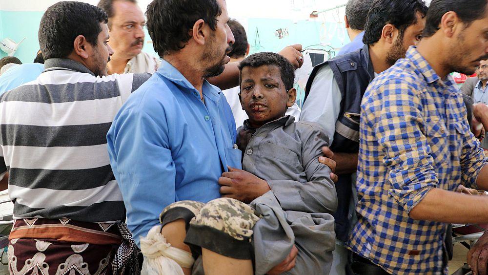 A Saudi-led airstrike killed dozens of Yemeni kids. Could the world have stopped it?