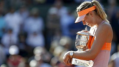 Sharapova drugs admission swamps social media