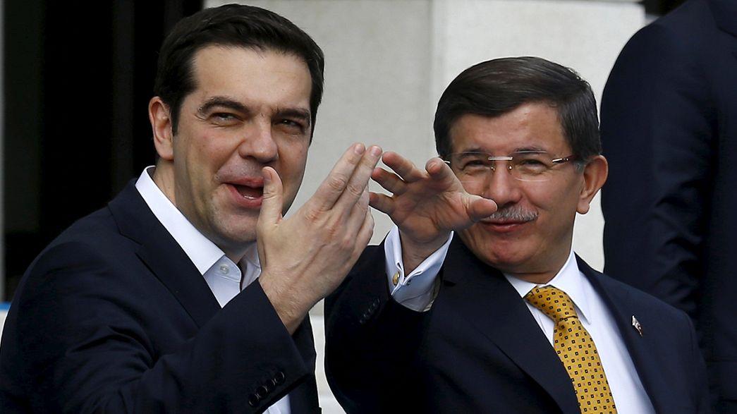 Türkei und Griechenland streben mehr Tourismus und Rückführung illegaler Migranten an