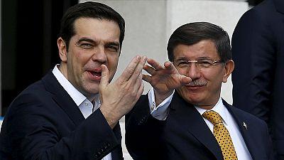 Grécia e Turquia com resposta comum na resolução da crise de migrantes e refugiados