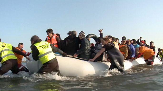 La mer Egée, la porte de l'Europe pour les réfugiés en Turquie