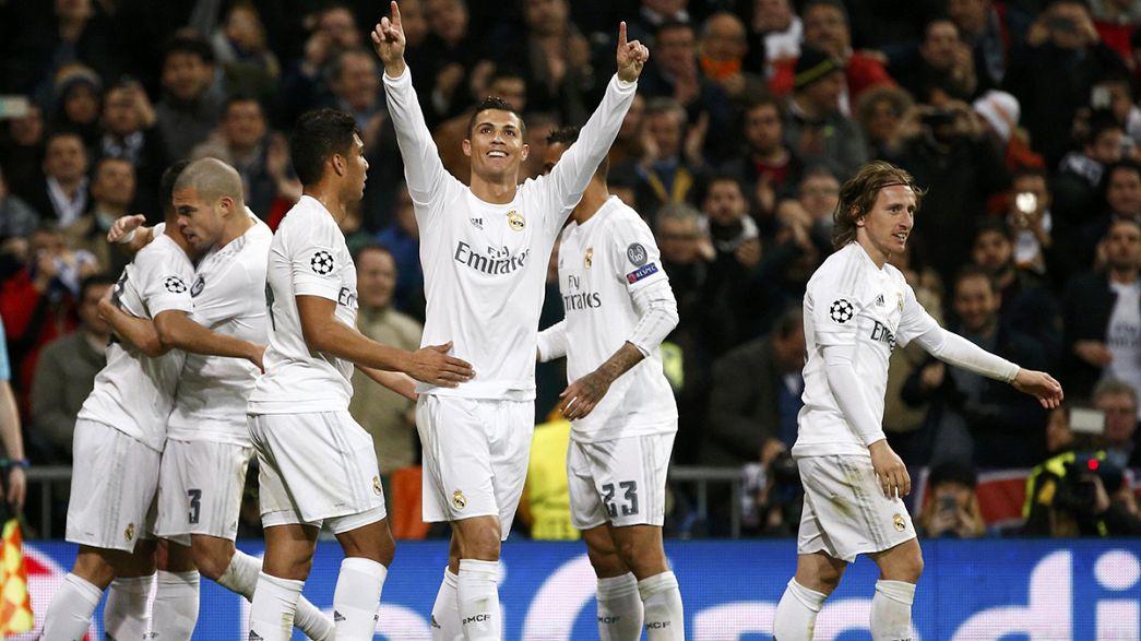 Champions League: Real Madrid und Wolfsburg stehen im Viertelfinale