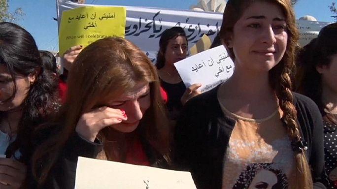 Jazidi nők kérnek több figyelmet a világtól