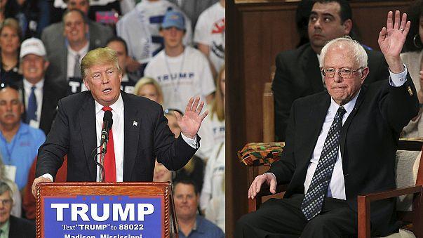Trump siegt in Michigan und Mississippi - Sanders feiert Achtungserfolg