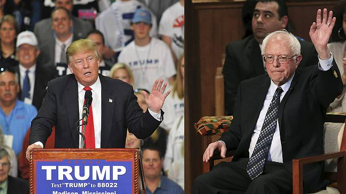 Trump easily takes Michigan in prize state primary but Sanders is the main surprise
