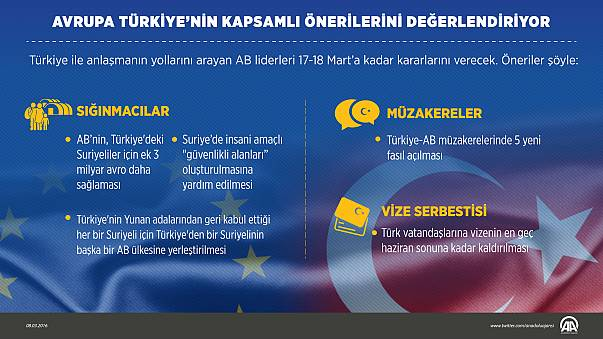 Türkiye'nin AB'den talepleri