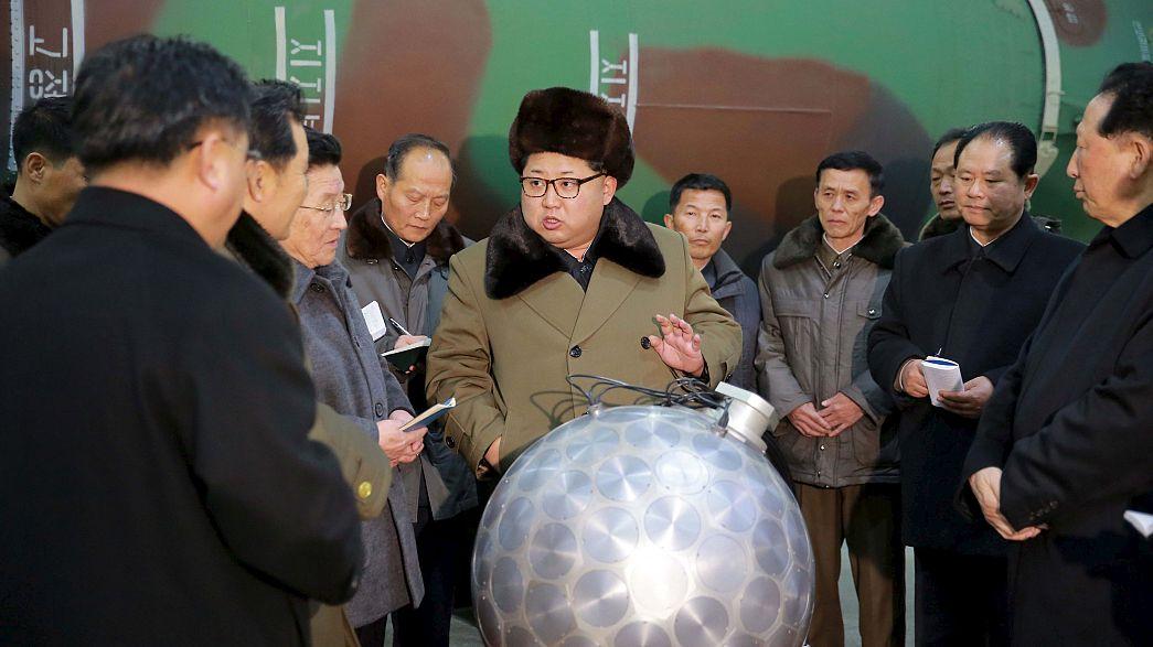 Coreia do Norte diz ter misseis termonucleares
